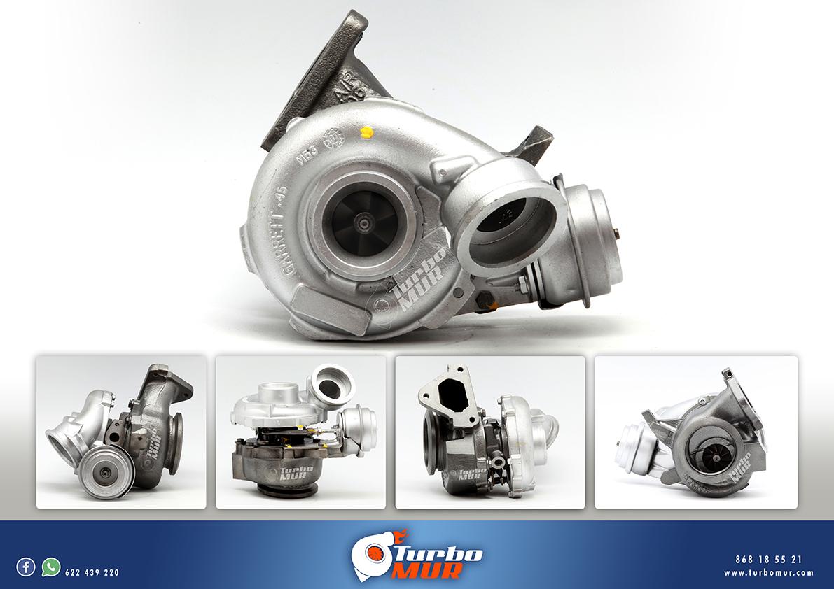 Turbomur - Turbo Garrett 2.7L 124KW