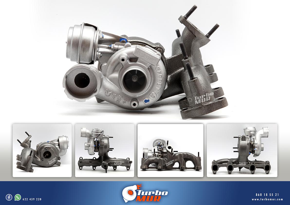 Turbomur - Turbo Garrett 1.9L 118KW