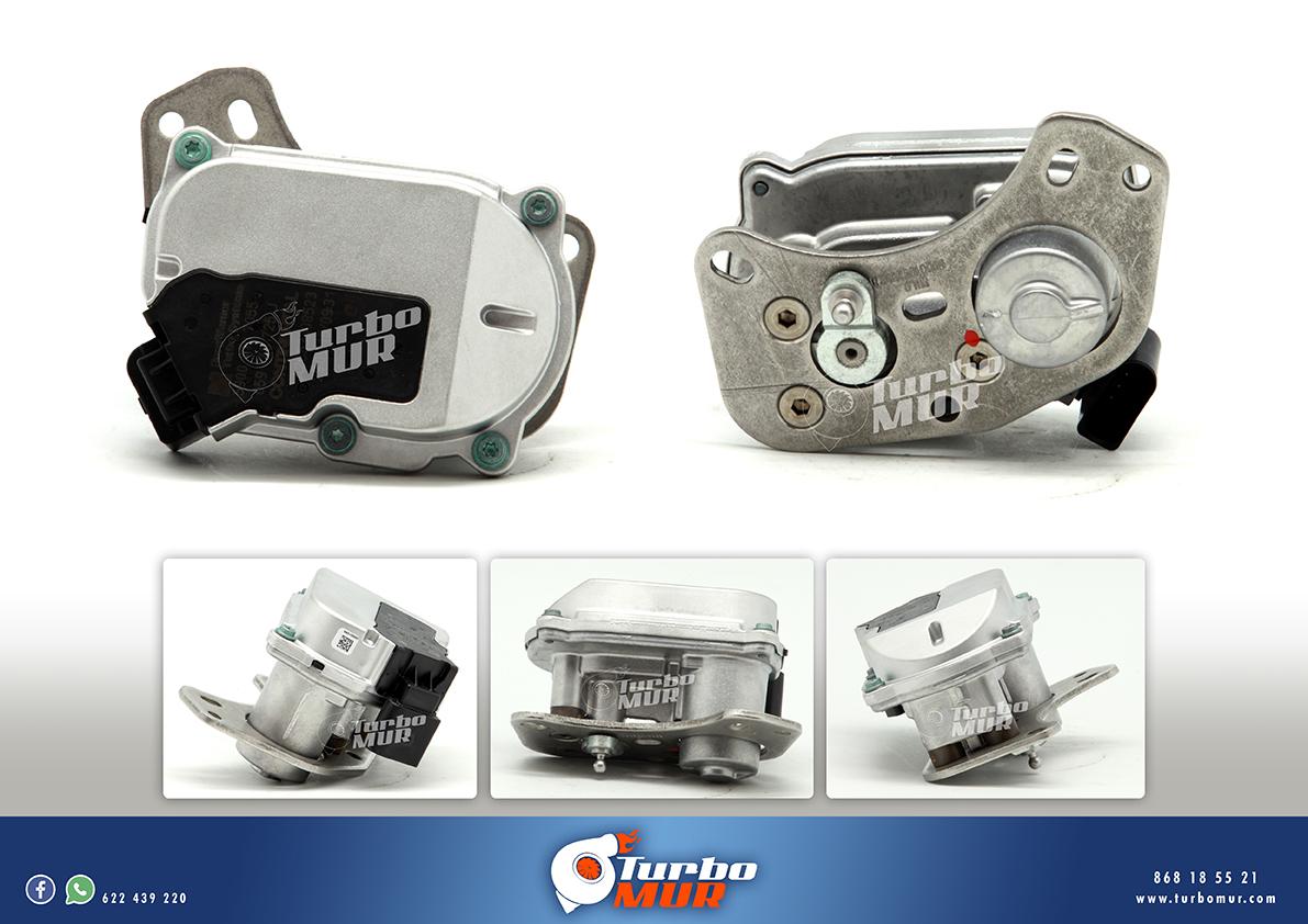 Turbomur - Actuador Electrónico para los motores AUDI VW 3.0 TDI