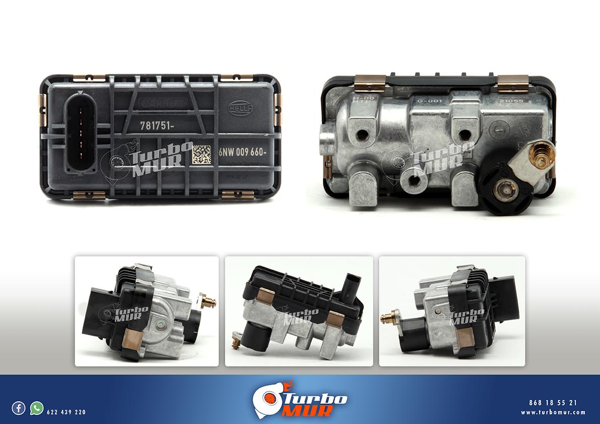 Turbomur - Actuador Electrónico para Mercedes Nuevo Original