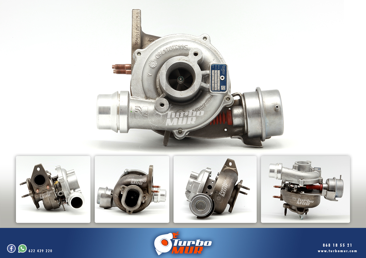 Turbomur - Turbo KKK 1.46L 81KW