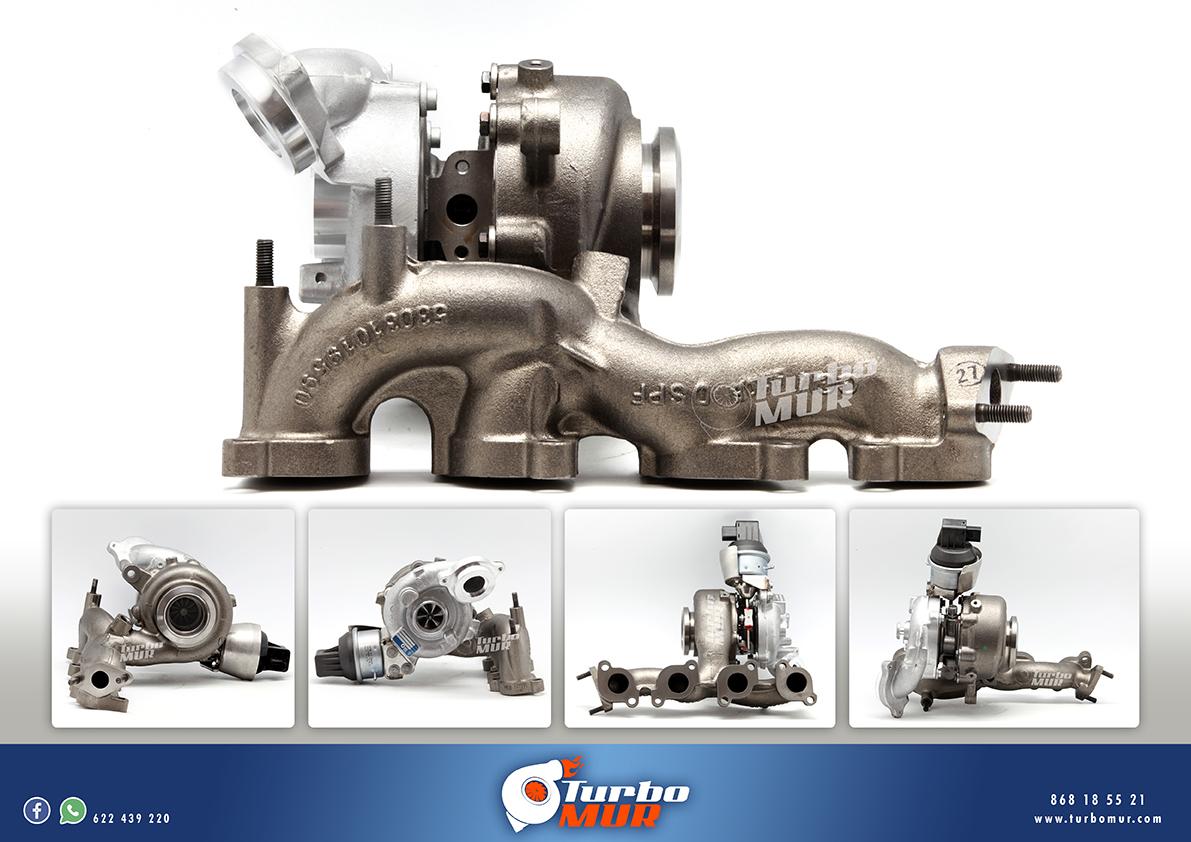 Turbomur - Turbocompresor  2.0 TDI 103KW 140CV
