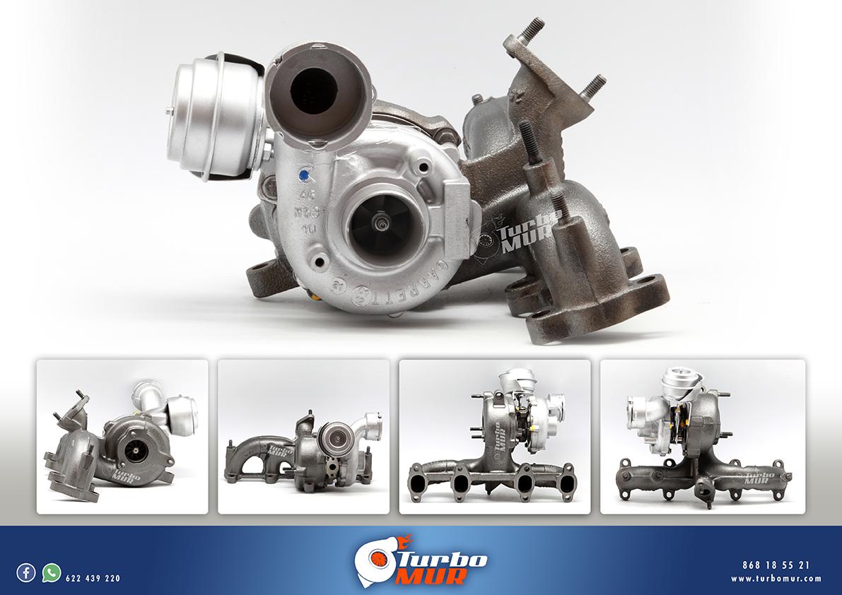 Turbomur - Turbo Garrett 1.9L 96KW