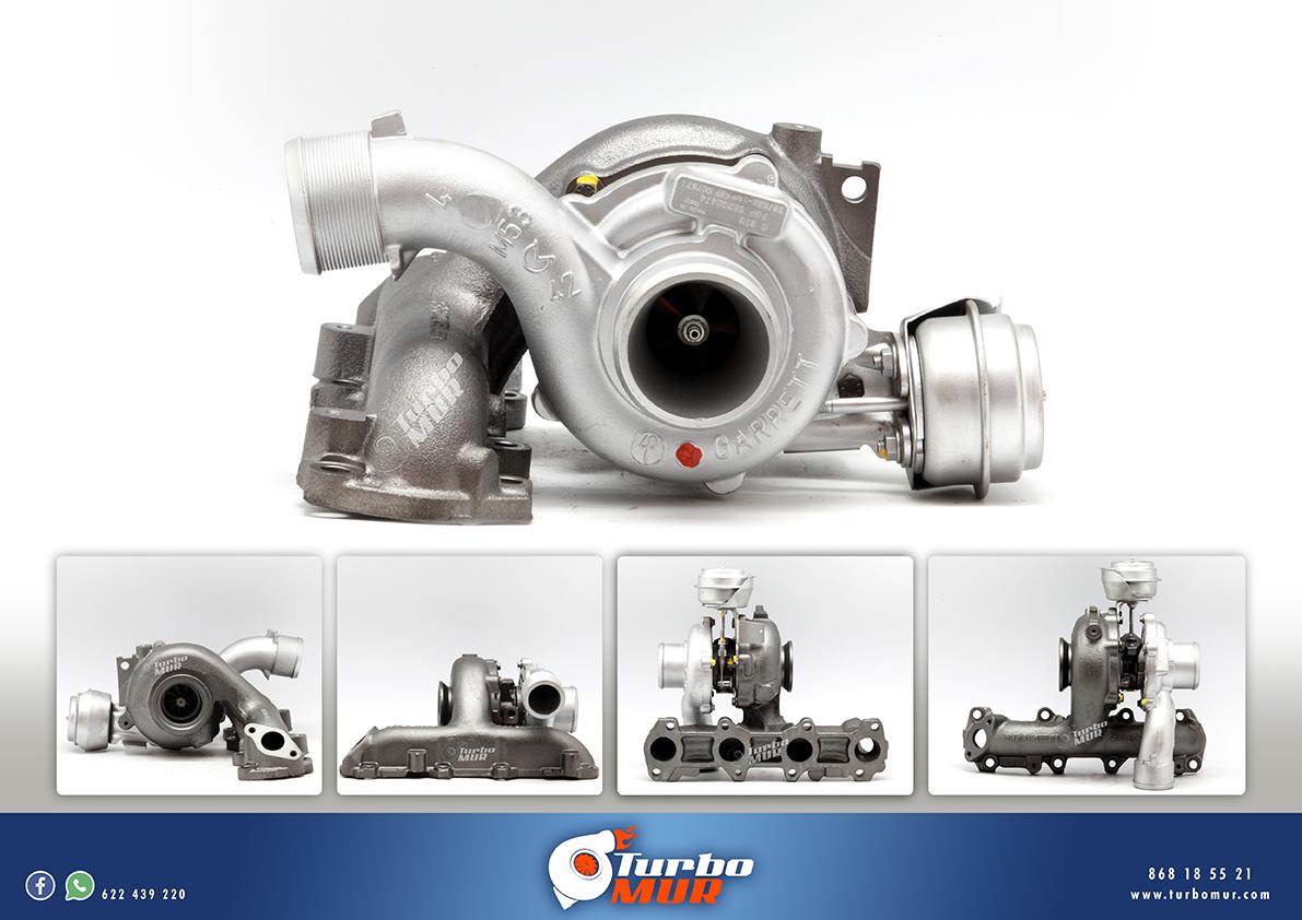 Turbomur - Turbo Garrett 1.910L 88KW