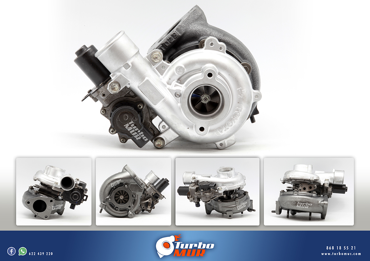 Turbomur - Turbo Toyota 3.0 173cv D-4D